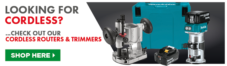 Cordless Routers & Trimmers