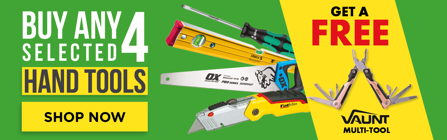 Buy Any 4 Hand Tools
