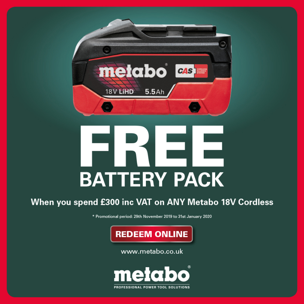 Metabo Free Battery Pack