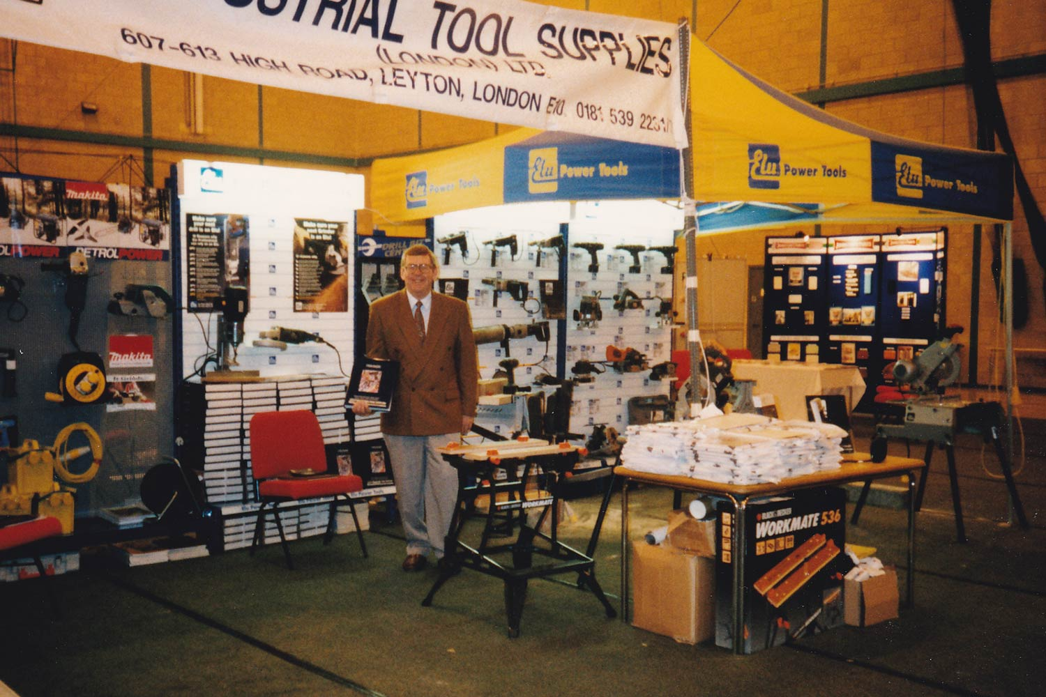 1995 - ITS Exhibiting at a National Tool Show