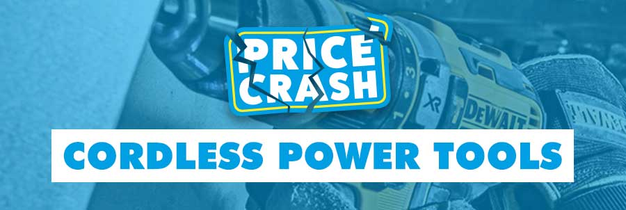 Cordless Power Tools Price Crash