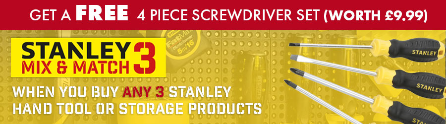 Stanley Hands Tools Offer