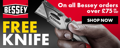 Free Bessey Knife over £75
