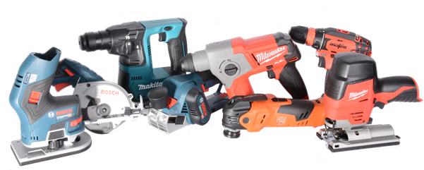A selection of 12v tools