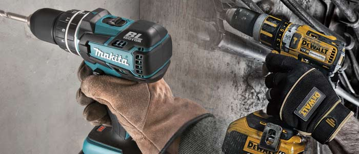 Makita and Dewalt brushless