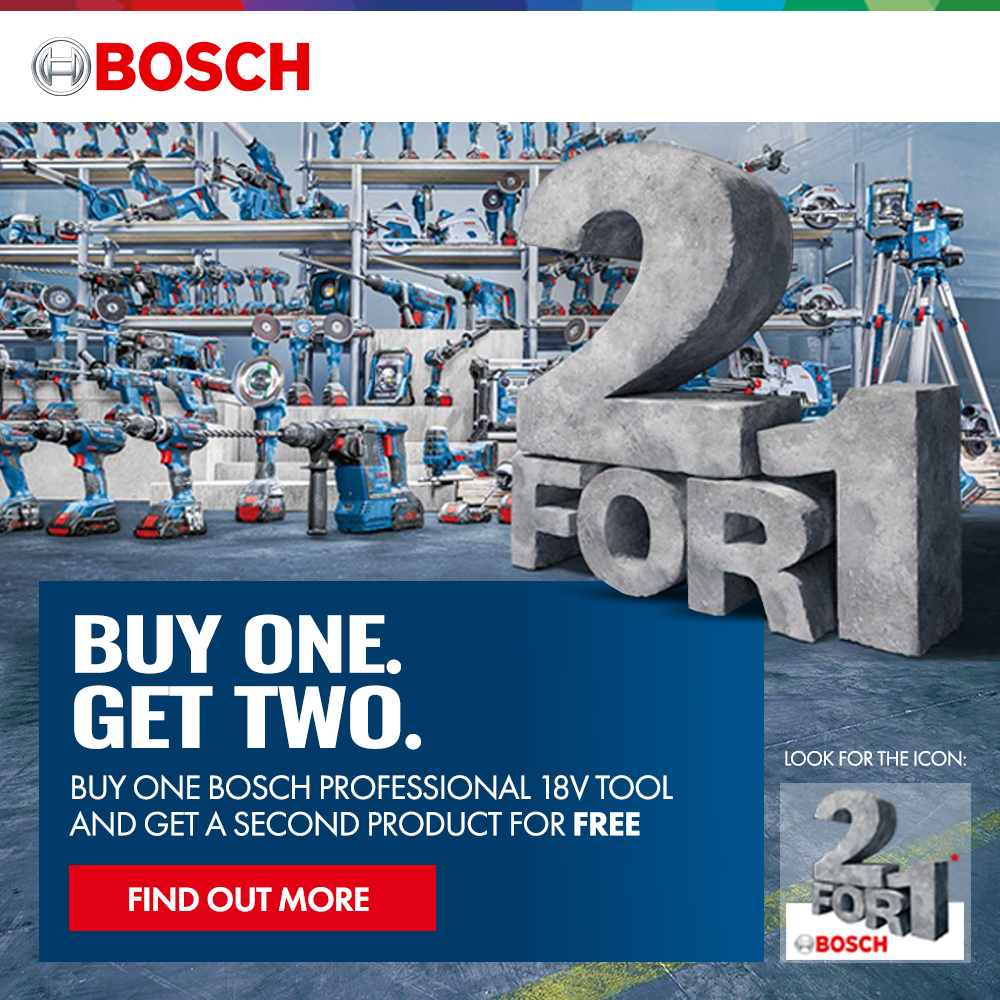 Bosch Buy one get two