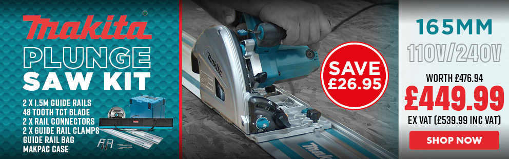 Makita Plunge Saw Ultimate Package