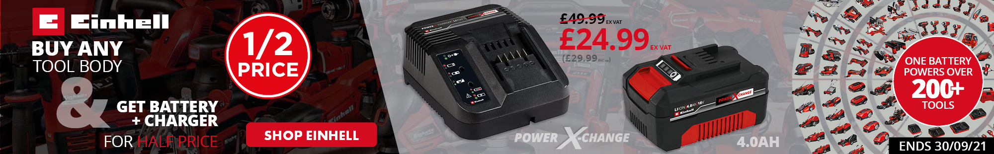 Einhell Battery & Charger Pack