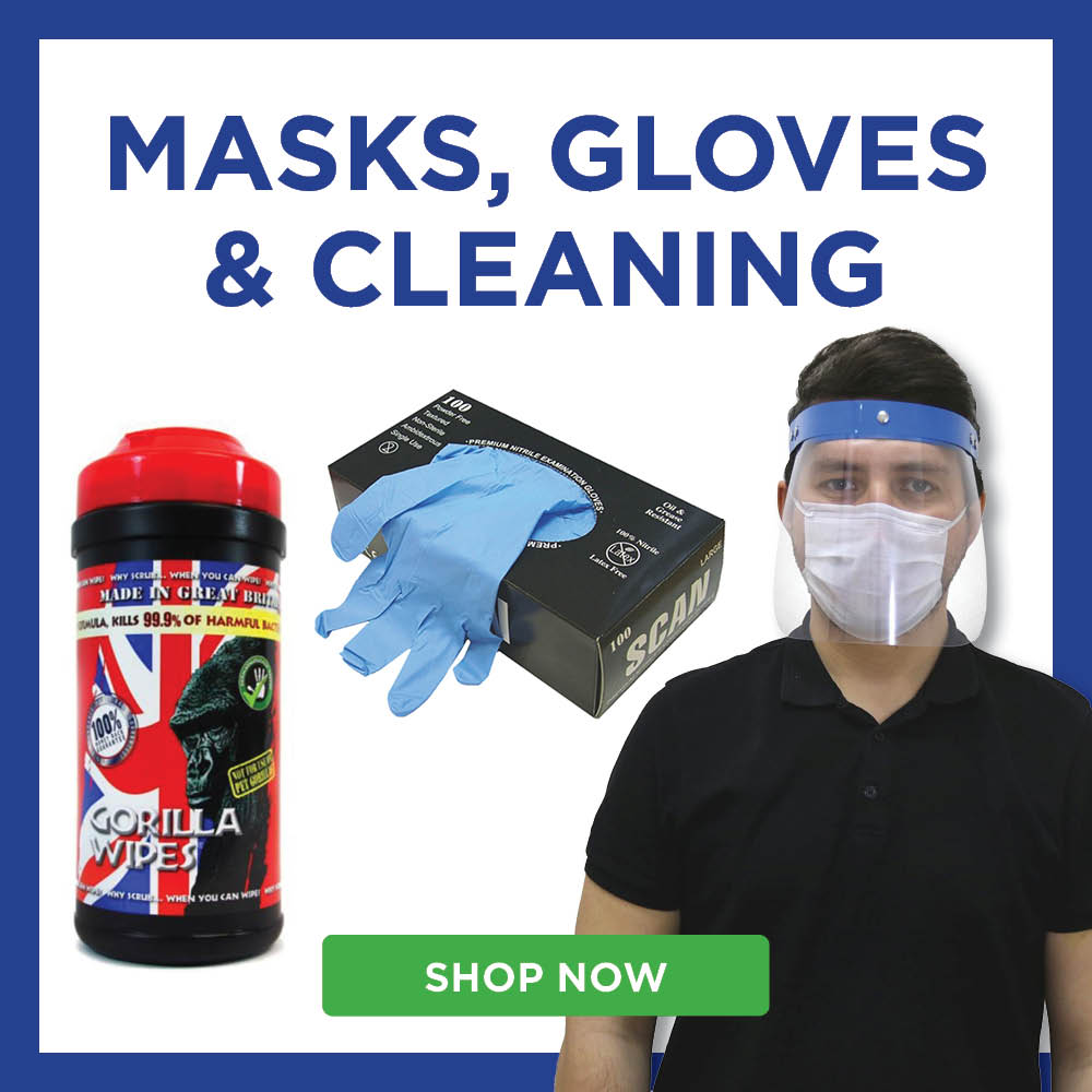 Masks, Gloves and Cleaning