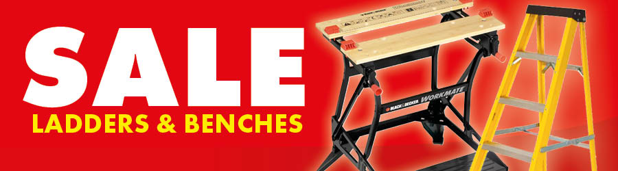 Sale - Ladders & benches
