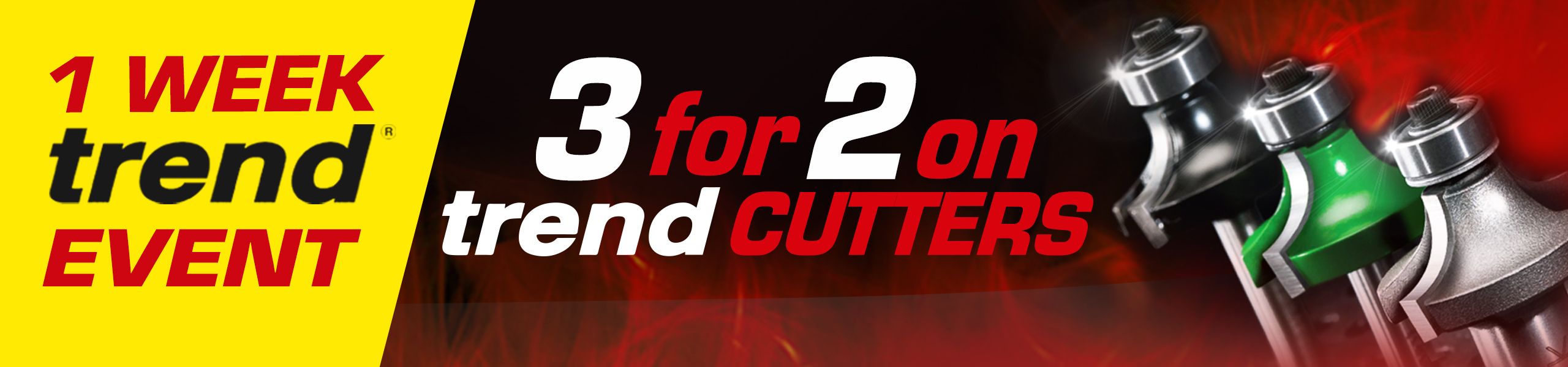 Trend 3 for 2 Router Cutters